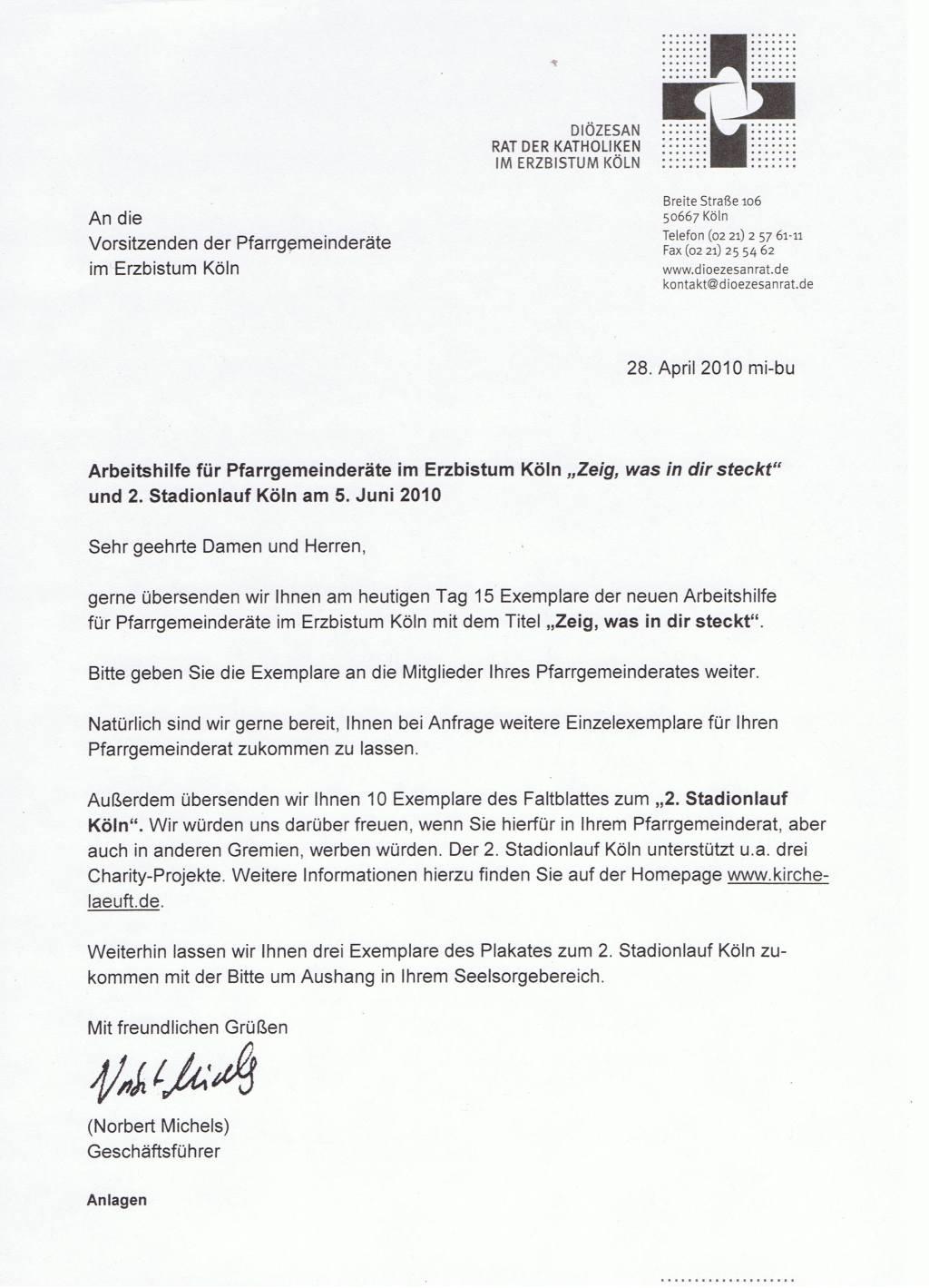 Brief Dioezesanrat Zeit-was-in-dir-steckt