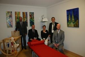 Einweihung Physiotherapie 01-2011