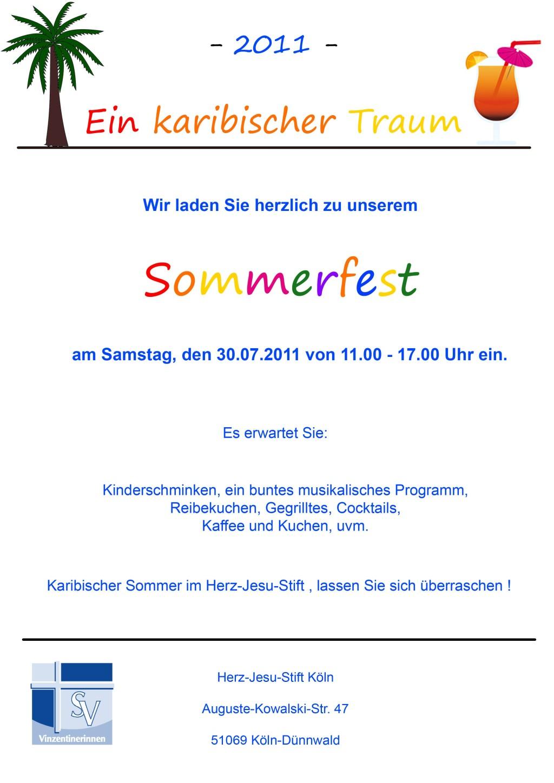 Sommerplakat 2011