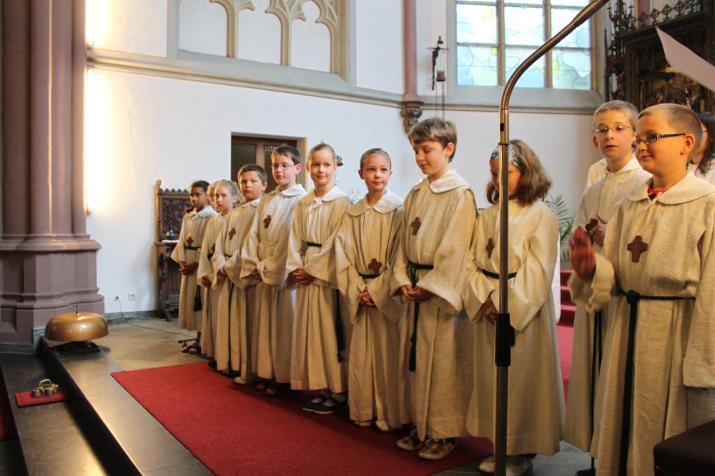 Aufnahme der neuen Ministranten 11.09.2011