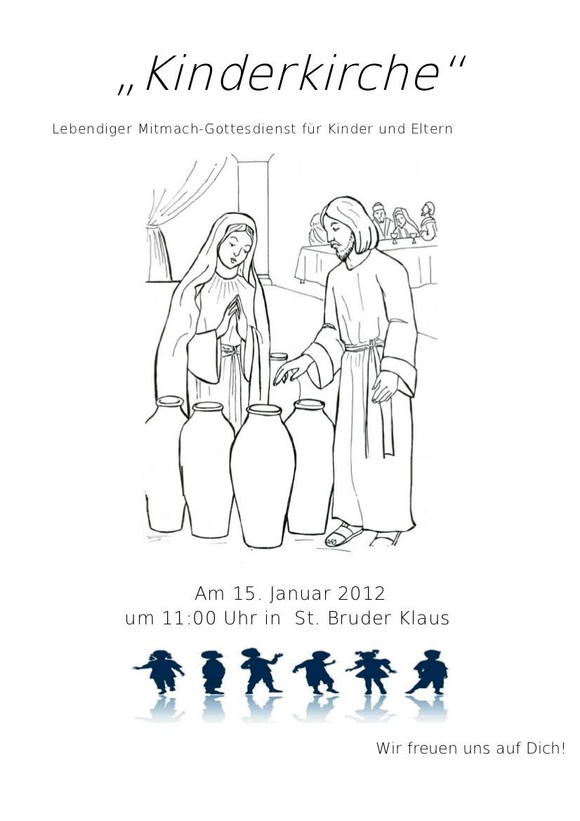 Kinderkirche Januar 2012