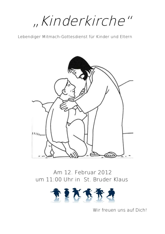 Kinderkirche Februar