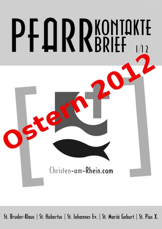 Pfarrkontakte 2012 Nr1