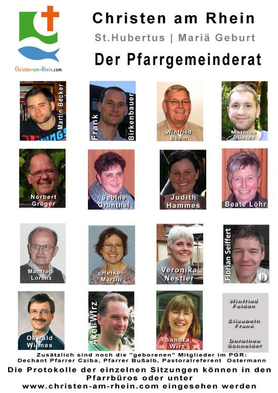 Der Pfarrgemeinderat 2012