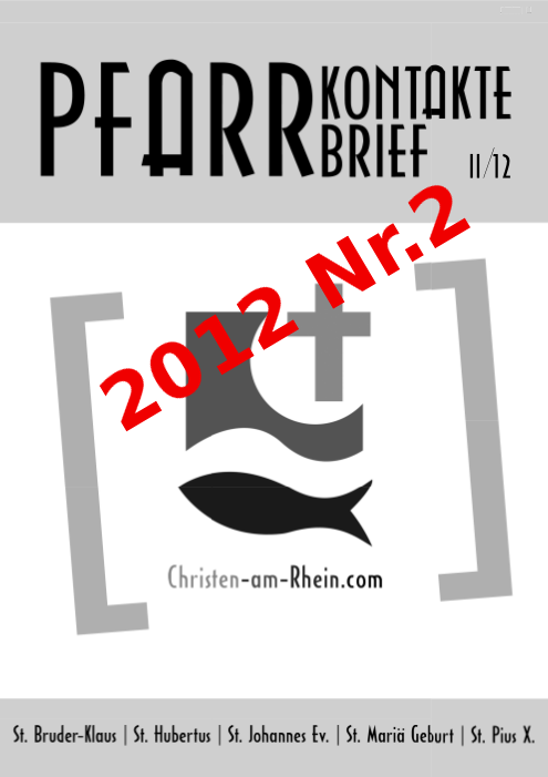 PfarrKontakte Nr2 2012