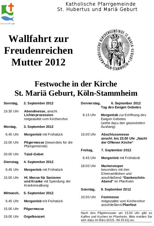 Plakat Festwoche 2012