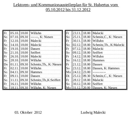 Lektoren Hubertus 2012 Nr.4