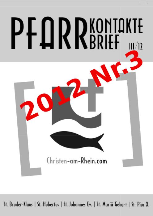 Pfarrkontakte 2012 Nr.3