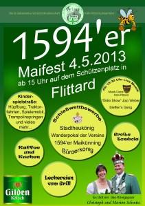 Plakat Frühlingsfest 2013