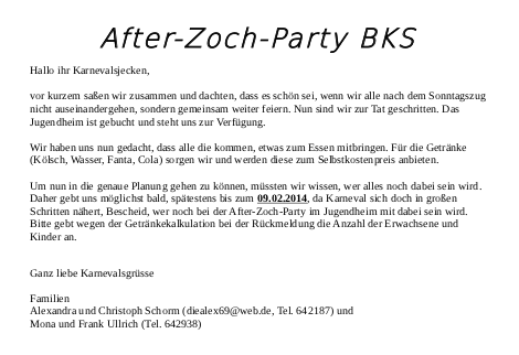 After-Zoch-Party BKS 2014