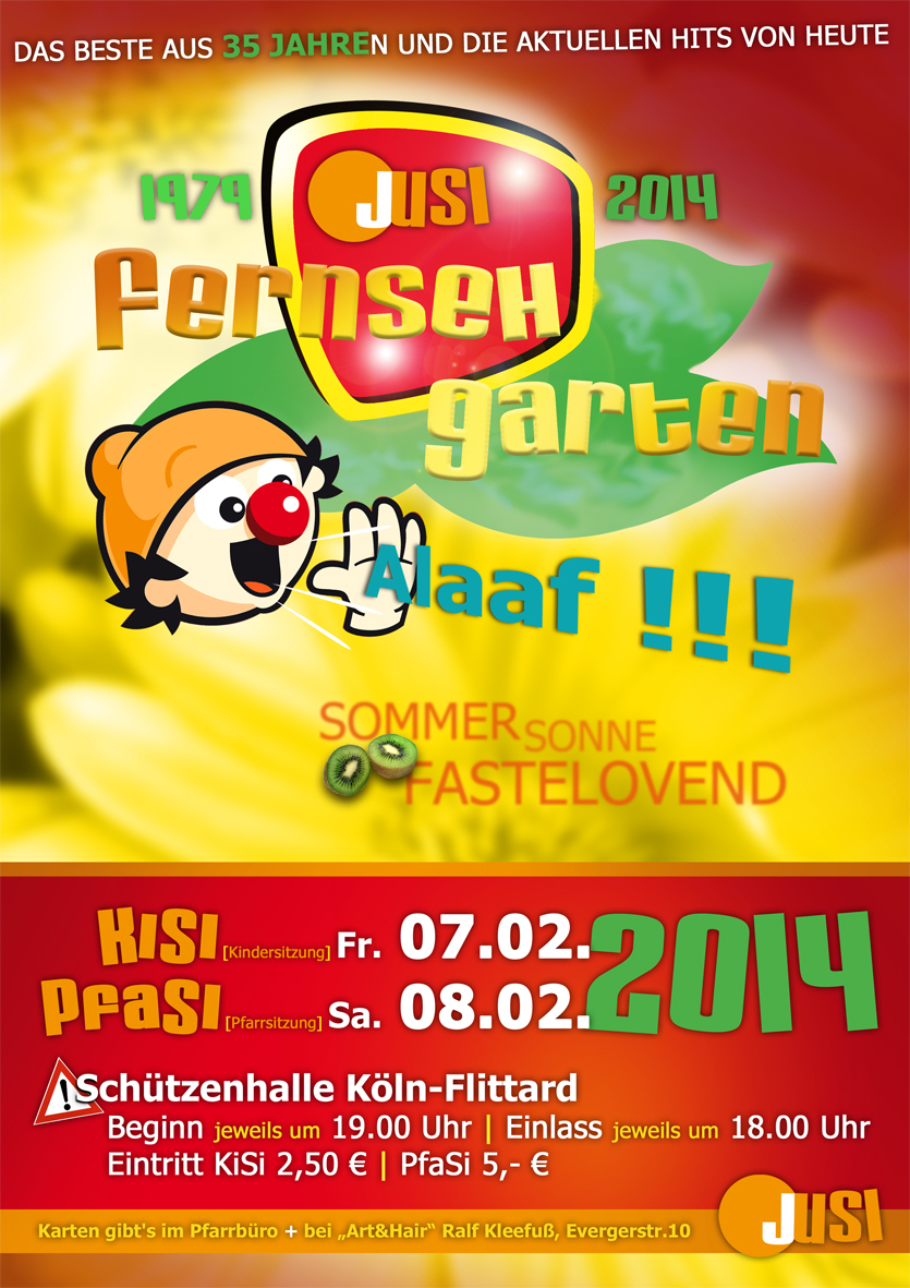 Plakat JuSi 2014