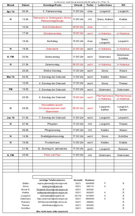 Lektorenplan Pius 02-2014