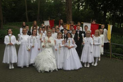 Erstkommunion St.Hubertus und Mariä Geburt  2014