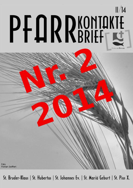 Pfarrkontakte II 2014