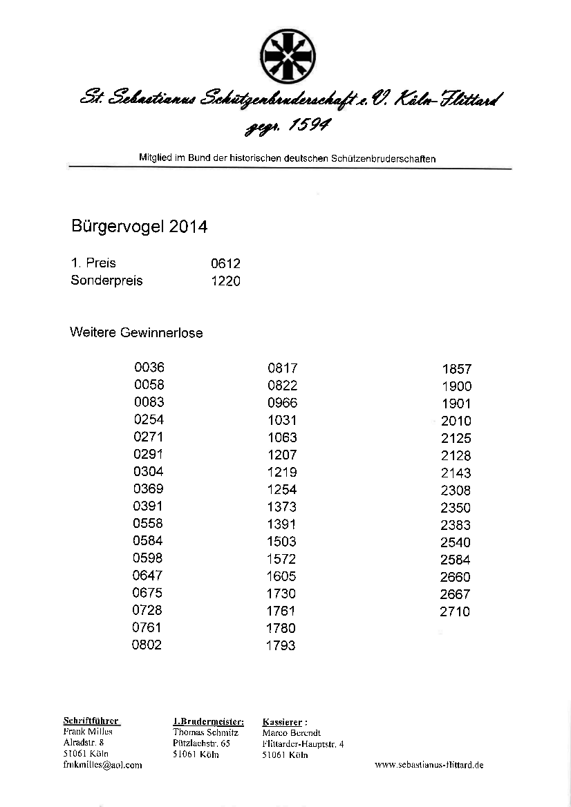 Bürgervogel 4.7.14