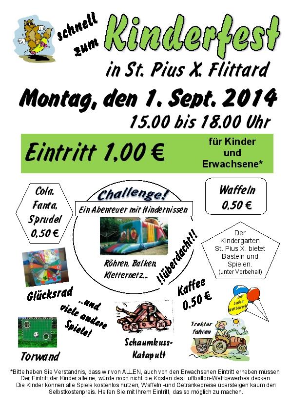 Kinderfest Pius 2014