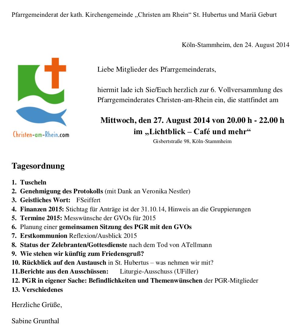 Einladung PGR 27-08-2014