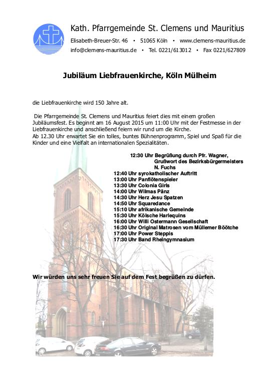 Einladung Mülheim
