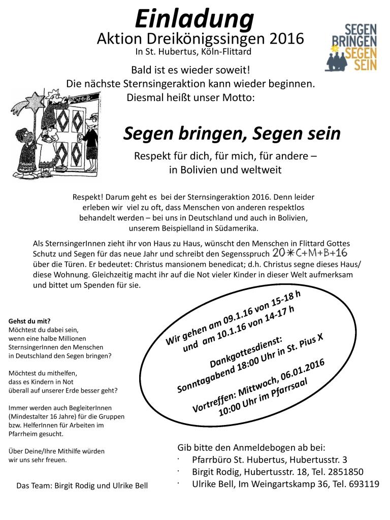 Einladung DKS 2016