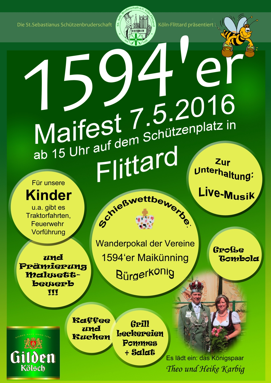 Maifest 2016 1594er Plakat