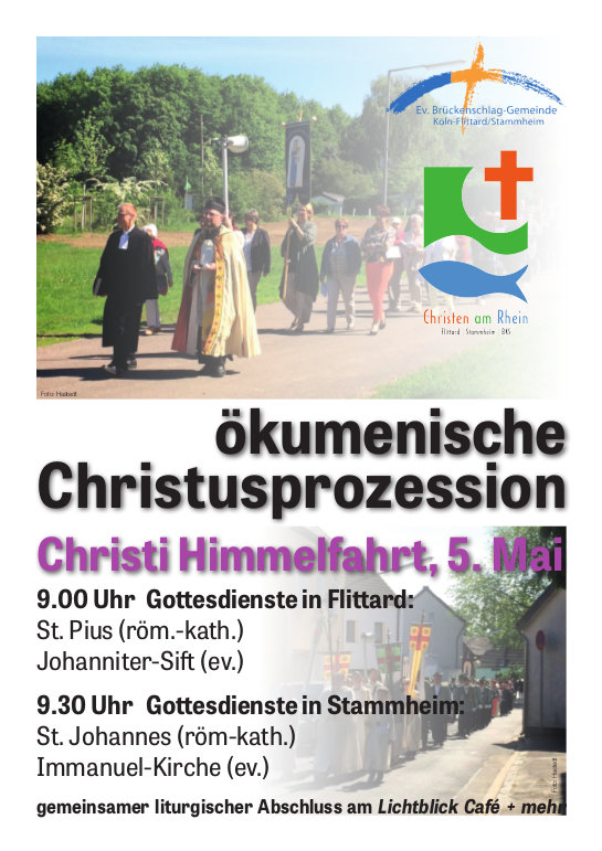 Plakat Christusprozession 2016