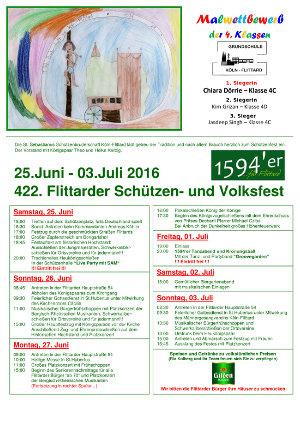 2016 Schuetzenfest Plakat 300