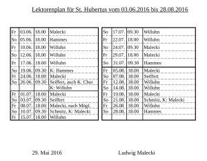 Plan Hubertus