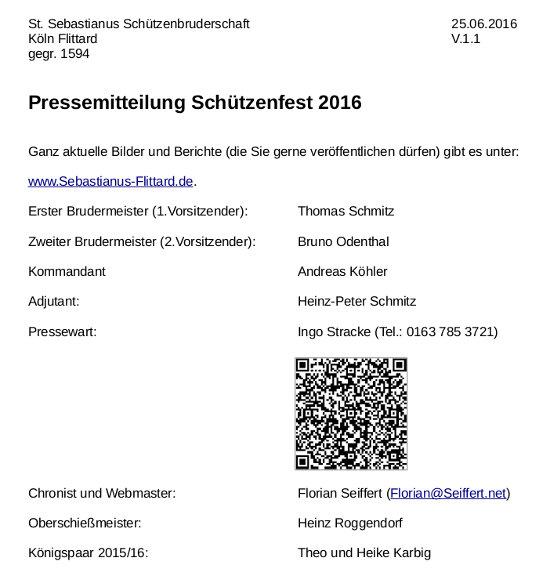 Pressemitteilung Schuetzenfest 2016 V1