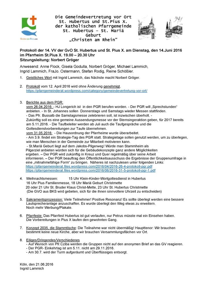 Protokoll GvO Flittard 14-06-2016