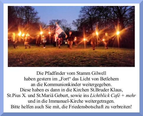 friedenslich -weitergegeben 2016