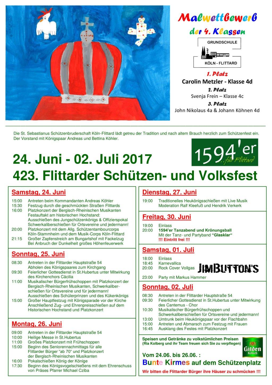 Schützenfest Flittard 2017