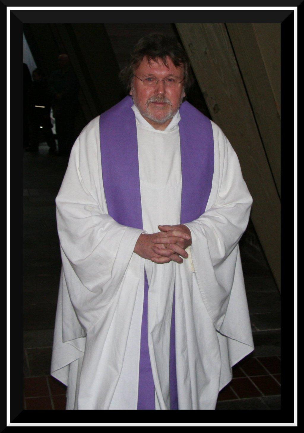 Pfarrer Hans-Otto Bussalb