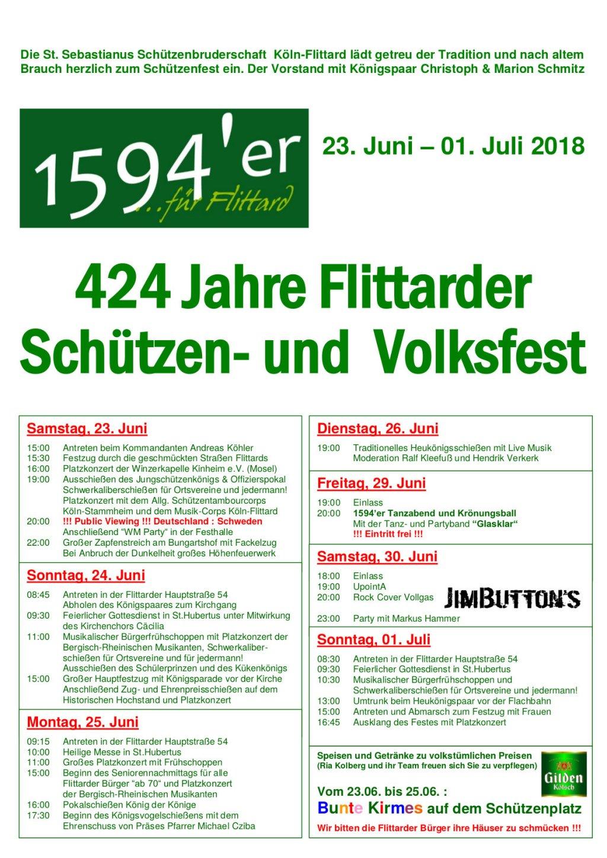 2018 Plakat Schuetzenfest