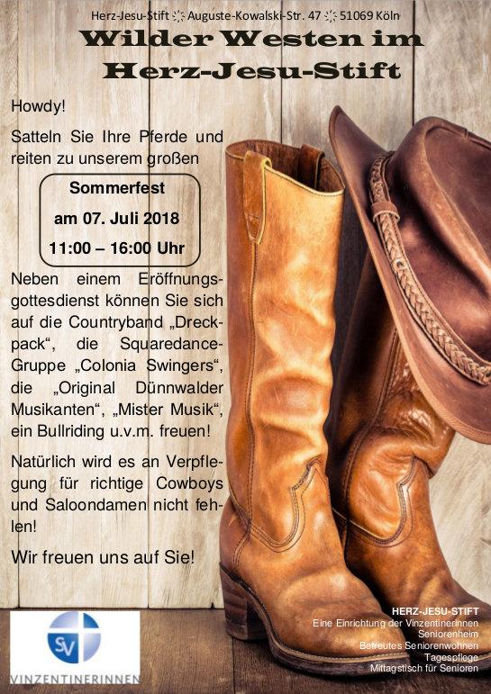 Plakat Wilder Westen