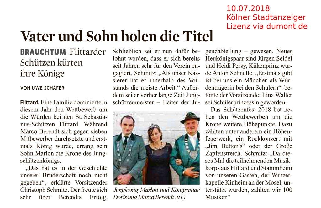 Artikel KStA U.Schäfer
